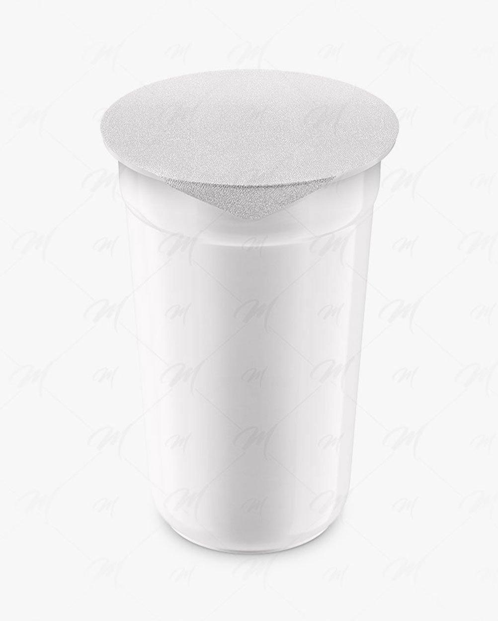 plastic cup mockup
