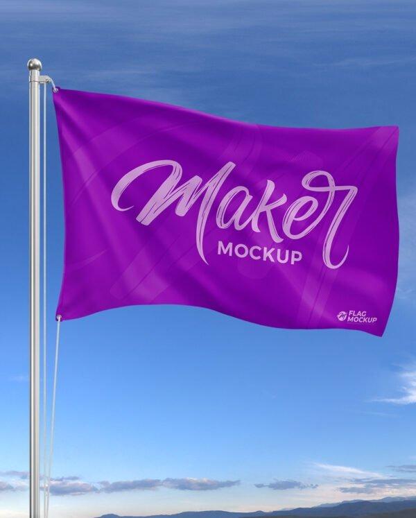 mockup bandeira