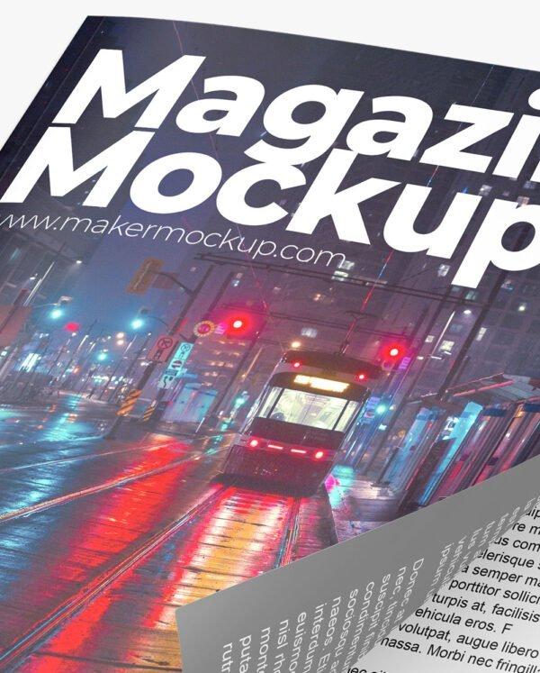 Mockup-magazine